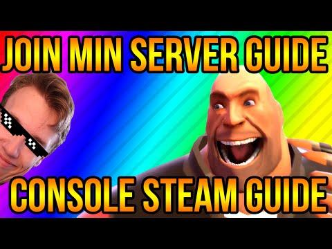 Hvordan man joiner min server og hvordan man får console | Dansk TF2