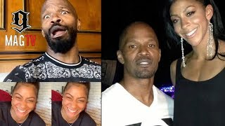 Jamie Foxx Impersonates Everybody During Candace Parker Interview! 🤣