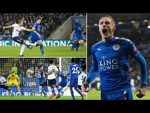 Leicester vs Tottenham 2-1: Vardy and Mahrez down Spurs ...