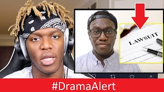 KSI has DIRT on Deji! (HOT) DEJI Threatens LAWSUIT! #DramaAlert NickMercs joins FaZe!