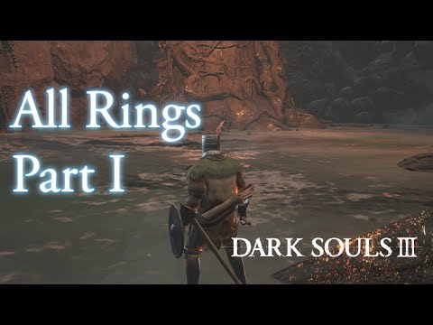 Dark Souls 3 - All Rings Locations (New Game) Part 1