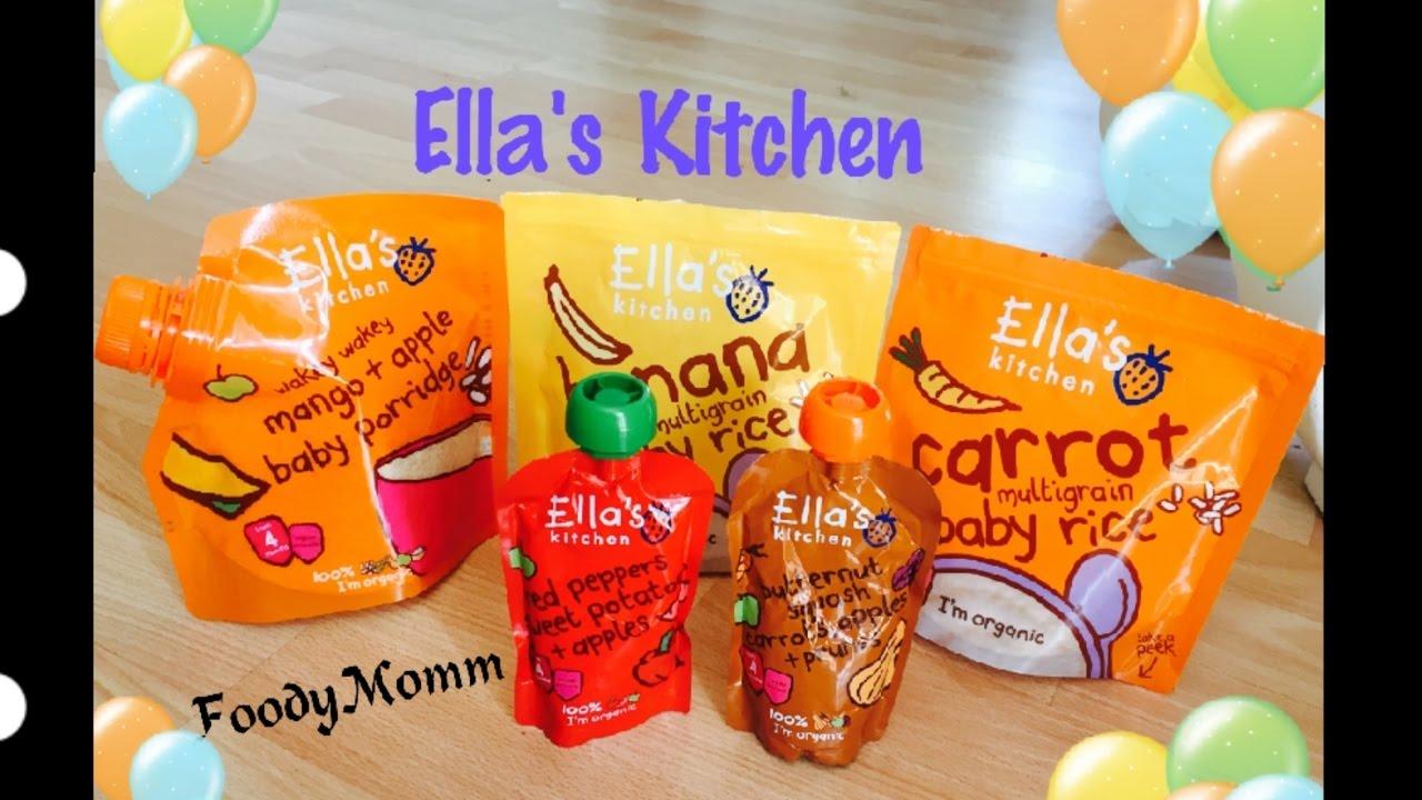 Ella's Kitchen Organic Baby Food Review || FoodyMomm