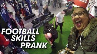 THE BEST FOOTBALL SKILLS PRANK! (PEOPLE GET PANNA!!)