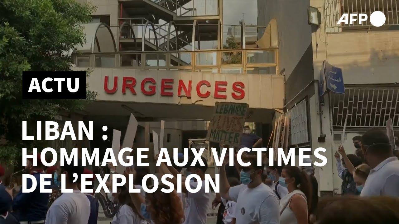Beyrouth: colère et tristesse dans les rues une semaine après la double explosion du port | AFP
