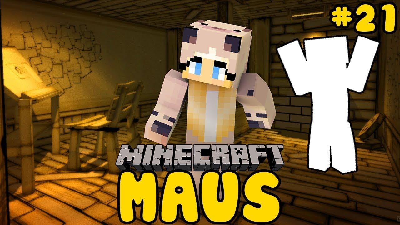 Wer Verfolgt Uns Da Minecraft Maus 21 Haus 00 Youtube