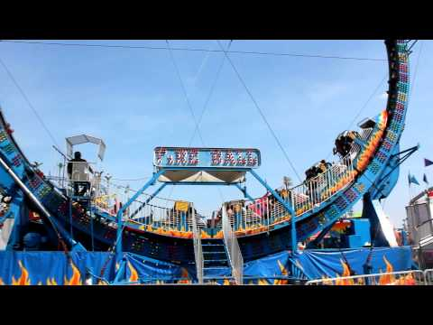 Fire Ball ride at the fair