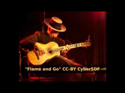 CyberSDF - Flame and Go [Free/Libre Music] #Flamenco #Electro