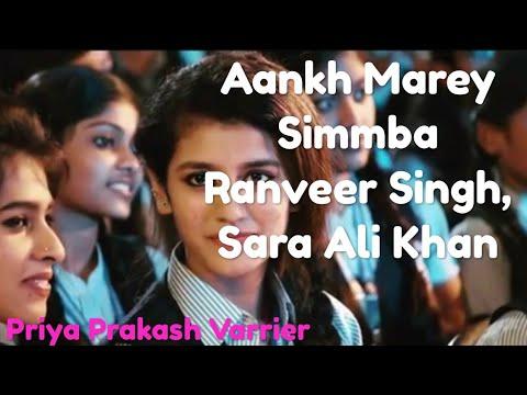 Aankh Mare Priya Prakash Varrier