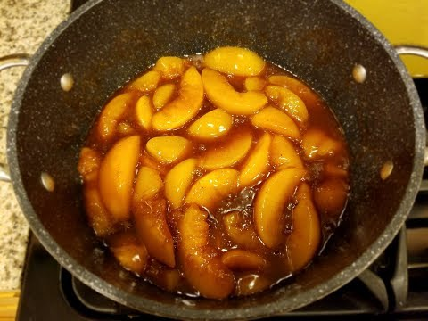 Peach Cobbler W/ The Wolfgang Puck Pie Maker. If You Forget This 1 Thing, Disaster Will Strike. 015