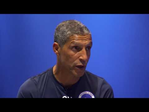 Ian Holloway meets... Brighton & Hove Albion manager Chris Hughton