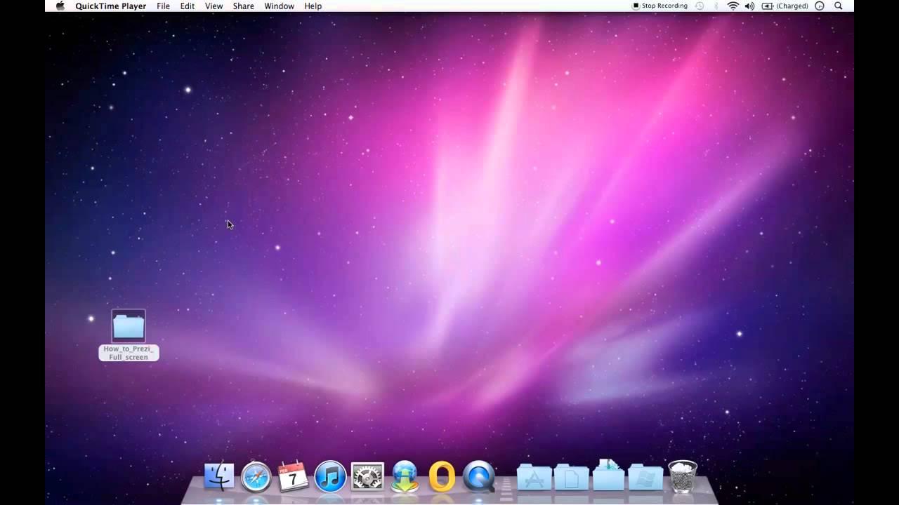 Prezi how to start full screen on a mac with slidedynamic ...