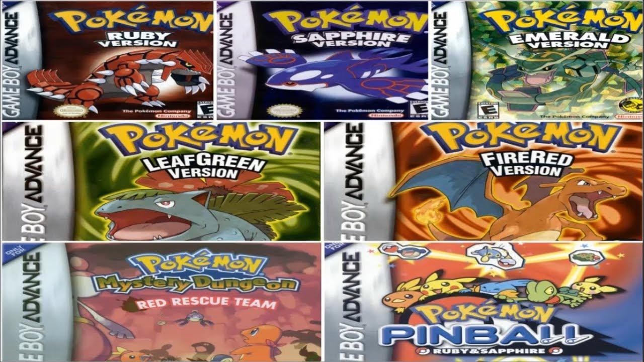 Descargar Todos Los Juegos De Pokemon Para Gba Espanol 1 Link