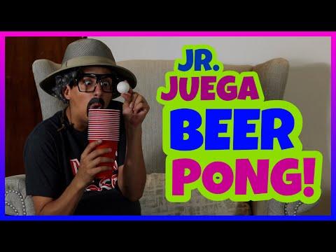 Daniel El Travieso - Abuelo Jr. Juega Beer Pong! - DANIEL EL TRAVIESO VIDEOS