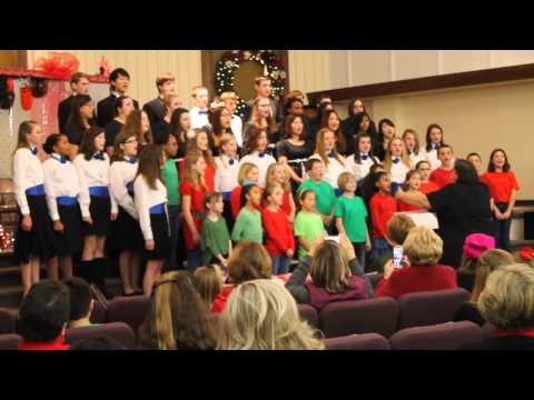 """Where's The Line To See Jesus""  by The Broadfording Christian Academy Combined Choirs"