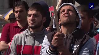 عدد من الإصابات بين الفلسطينيين خلال مسيرات غضب في غزة - (9-3-2018)