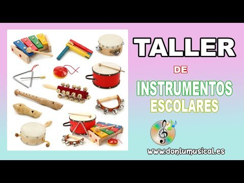 Instrumentos musicales caseros con material reciclado para niños