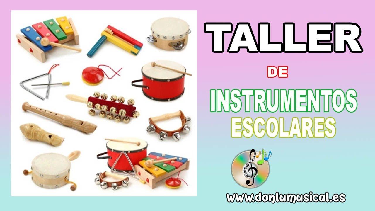 Instrumentos musicales caseros con material reciclado para niños - YouTube