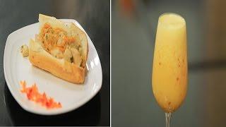 سندوتش دجاج بالقرفة - عصير برتقال بالبرقوق | سندوتش وحاجة ساقعة حلقة كاملة