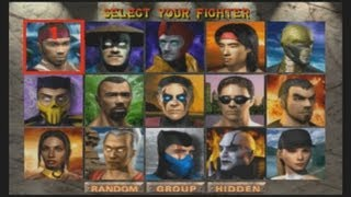 Mortal Kombat 4 - Playthrough (PSX)