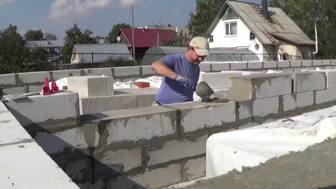 Приспособление для укладки газосиликатных блоков своими руками