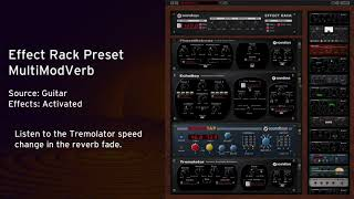 Free Effect Rack Preset: MultiModVerb