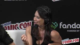 Evangeline Lilly Talks Squickerwonkers - NYCC 2016
