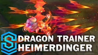 Dragon Trainer Heimerdinger Skin Spotlight - League of Legends