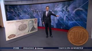 El adiós a la clásica moneda de 100 pesos