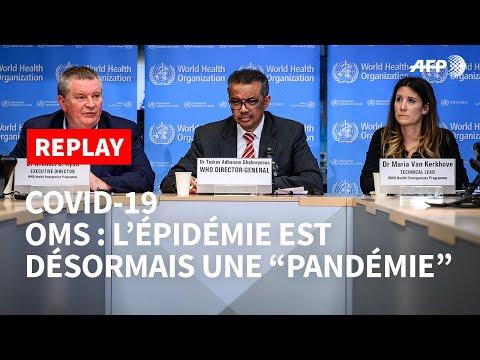 REPLAY - L'OMS déclare que l'épidémie de coronavirus est une