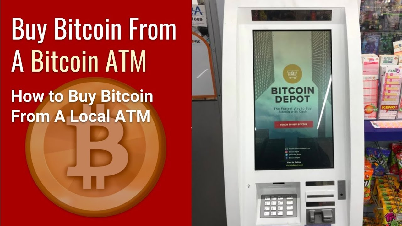 How To Use A Bitcoin Atm Purchase Bitcoin