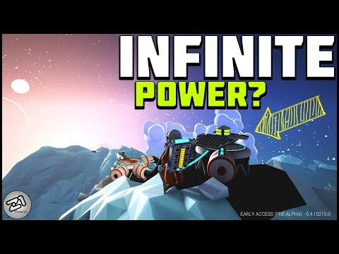 Infinite Power 1 Solar Panel ?! Lets Play Astroneer Update Gameplay Z1 Gaming