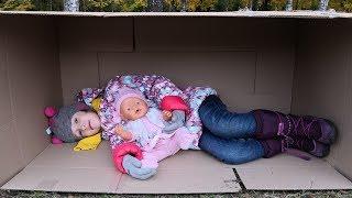 Rain Rain Go Away | Ulyana pretend play with baby doll