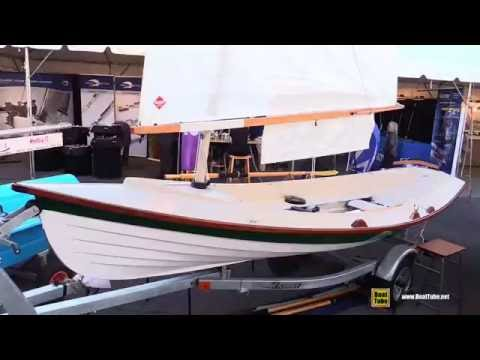 2016 GIG Harbour Boat Works 16.5 Saing Boat - Walkaround - 2015 Annapolis Boat Show