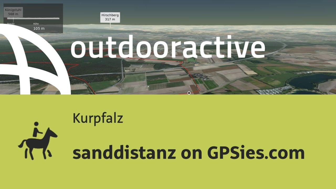 Gpsies Karte.Reitweg In Der Kurpfalz Sanddistanz On Gpsies Com