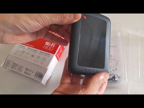 Emtec Connect WiFi HDD P700 Test en Francais