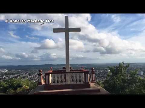 Travel Cuba Main Landmarks: tropical Holguin city, Hill of the Cross (Loma de la Cruz)