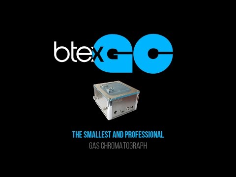 BTEX-GC the smallest gas chromatograph (software, real time, archive data)