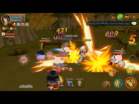 Dragonica Mobile [Android] Gameplay