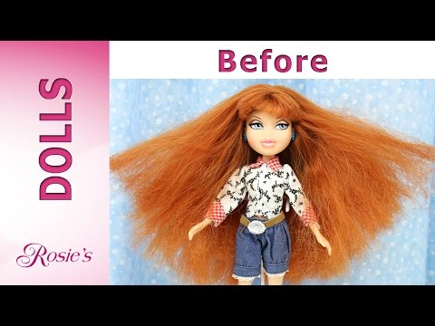 Bratz Meygan Makeover Part 1 -  Hair Repair