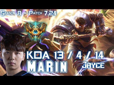 MaRin JAYCE vs CHO'GATH Top - Patch 7.24 KR Ranked