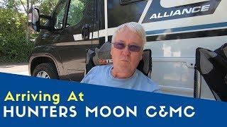 Arriving At Hunters Moon Caravan And Motorhome Club Site | Bailey Meetup Tour 2019