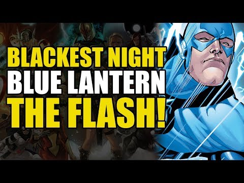 The Flash Becomes A Blue Lantern! (Blackest Night: The Flash)