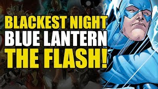 The Flash Becomes A Blue Lantern! (Green Lantern Blackest Night: The Flash)