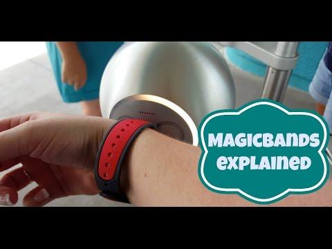 Disney Magicbands explained