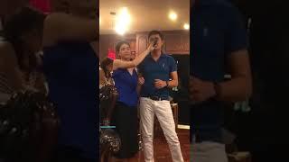 Karaoke Sầu Tím Thiệp Hồng - KHA LY ft MINH LUÂN tại Mỹ