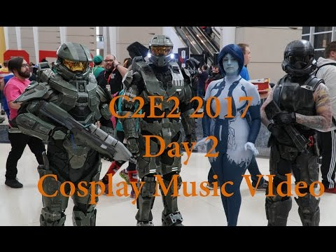 C2E2 2017 Day Two Cosplay Music Video
