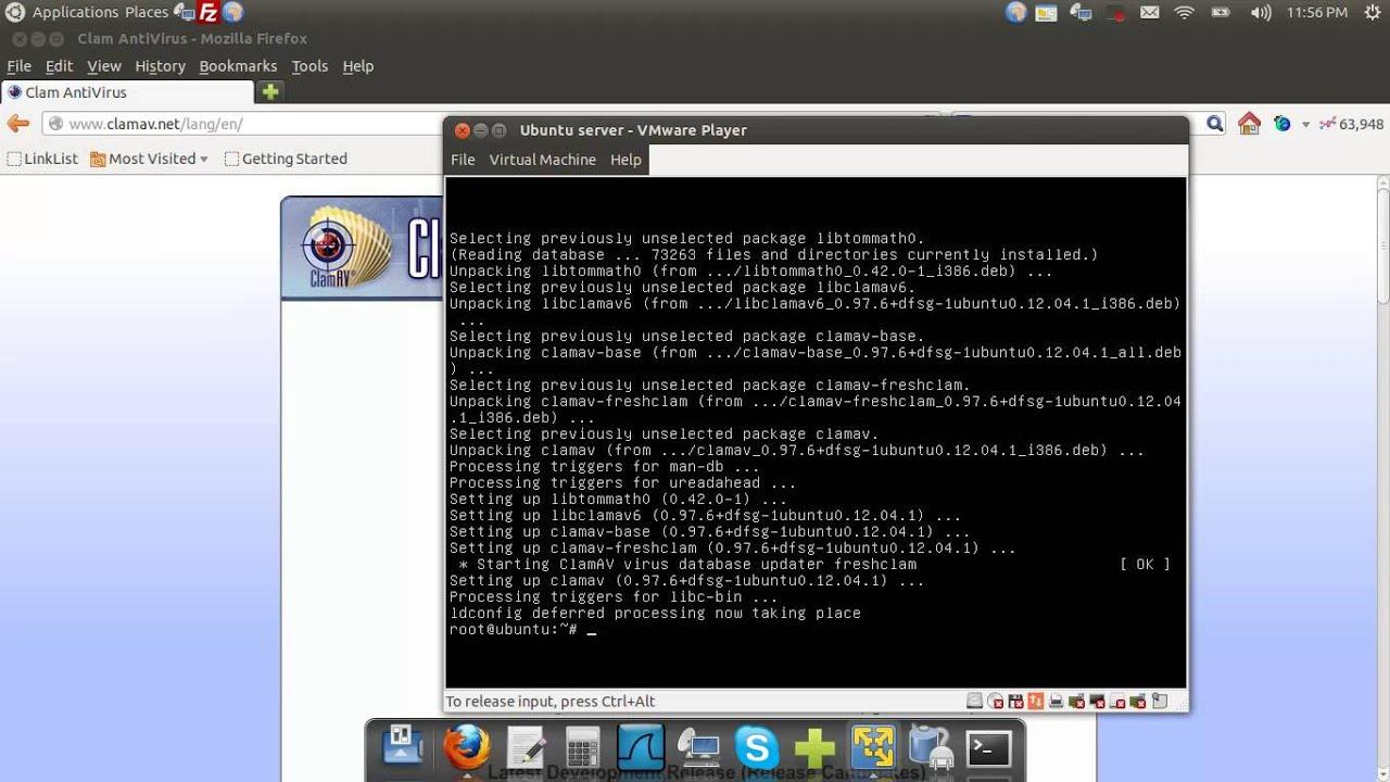 clamav ubuntu