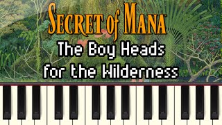 The Boy Heads for the Wilderness - Secret of Mana [Synthesia]