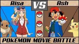 Pokémon Movie Battle: Ash vs. Risa! (Pokémon Sun/Moon) - The Power of Us!