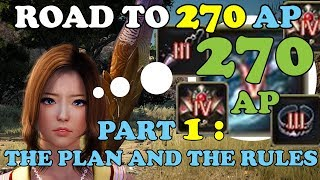 BDO - Road To 270 AP Part 1: The Plan and The Rules